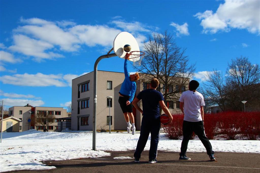 appelquist foto basket campus